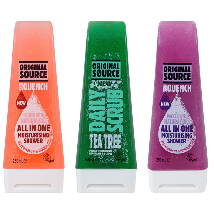 Original Source Daily Scrubs and Skin Quenches, $4.99 each