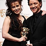 Helena Bonham Carter and James McAvoy, 2011