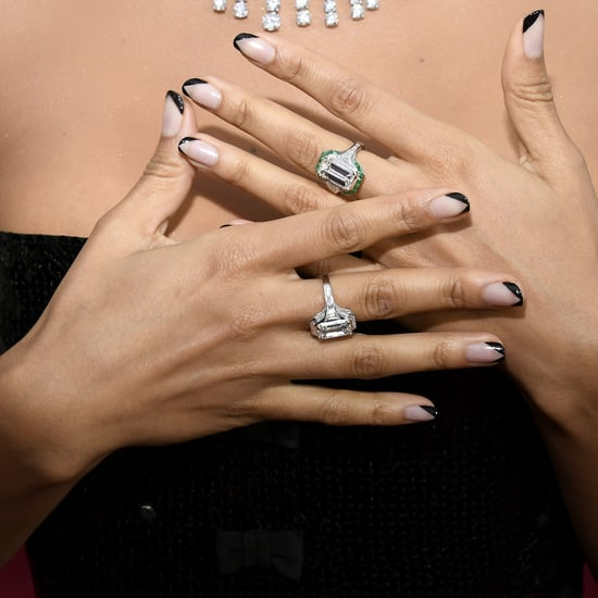 The Double French Manicure Nail-Art Trend For Summer