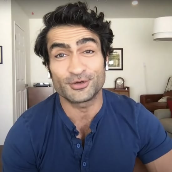Watch Kumail Nanjiani Talk At-Home Workouts on Colbert