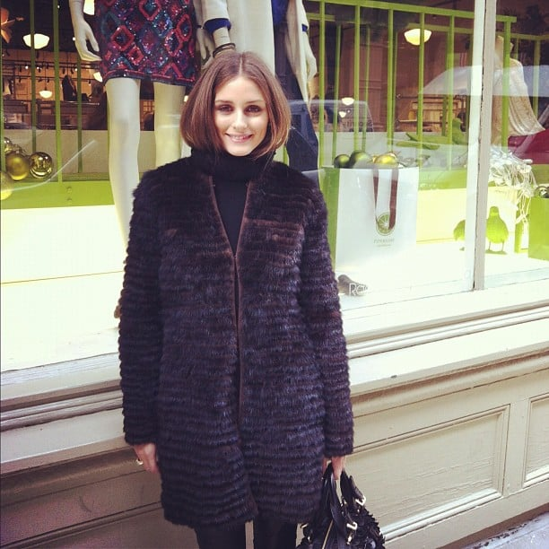 Olivia Palermo stopped by a Piperlime store in NYC. Source: Instagram user piperlime