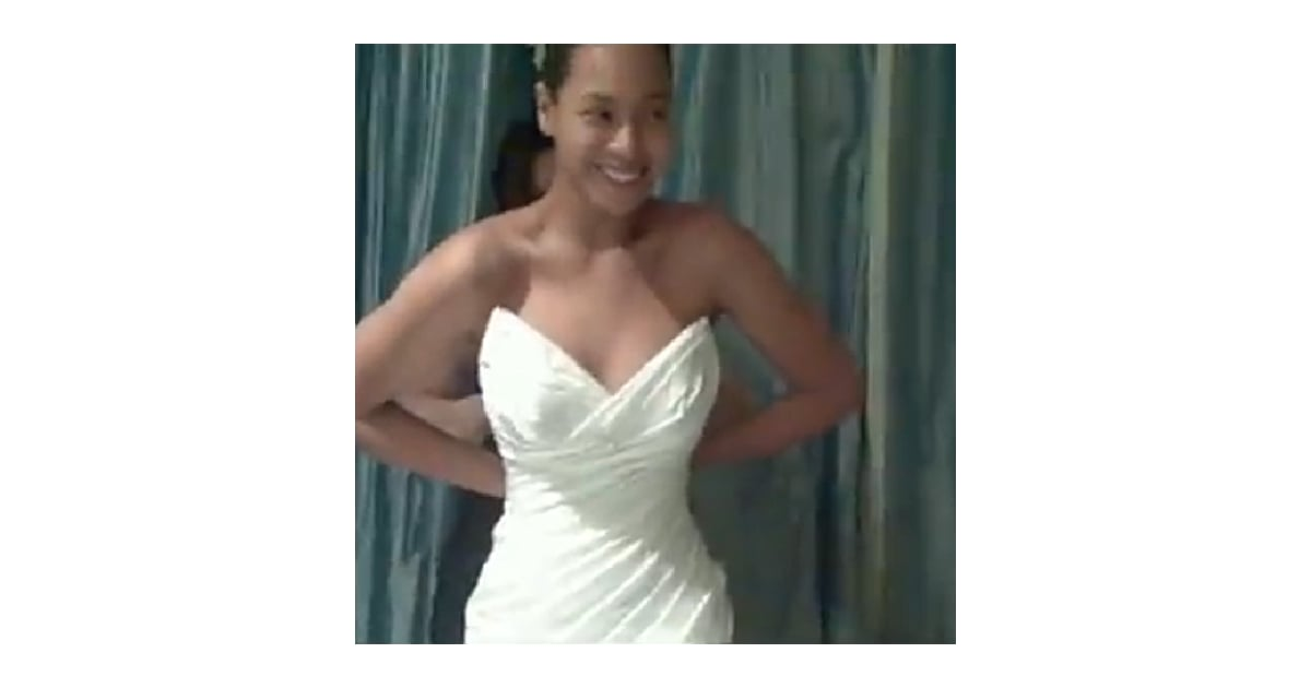 Beyonce Wedding Dress Pictures From I Was Here Music Video