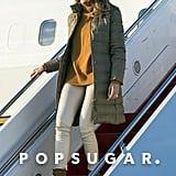Melania Trump Ralph Lauren Puffer Coat