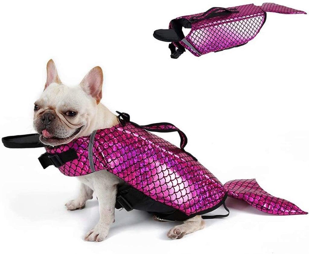 Buy the Pink Mermaid Dog Life Jacket Here