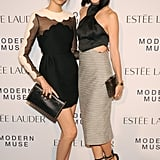 At Estée Lauder's Modern Muse fragrance launch, Soo Joo Park and Eva Chen made a pretty pair.