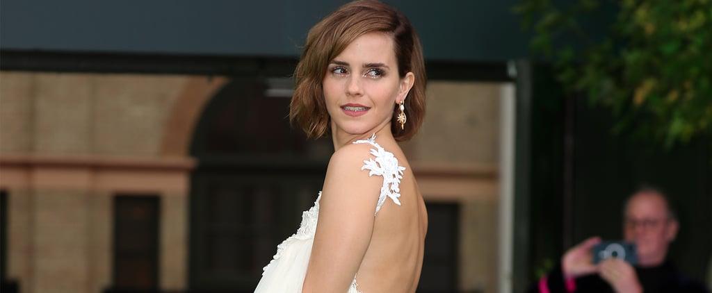 Emma Watson Wears Harris Reed to the Earthshot Prize Awards
