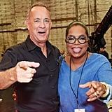 Tom Hanks and Oprah