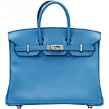 Hermes Birkin leather tote