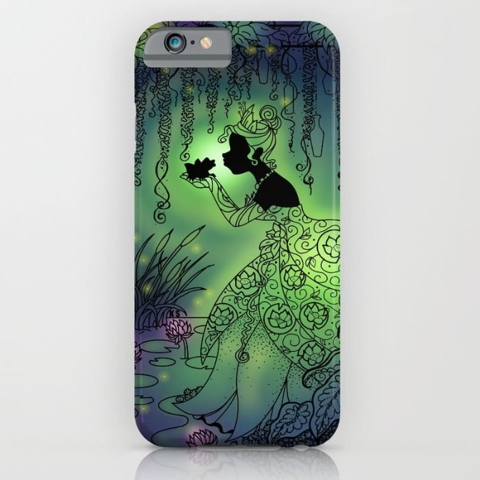 Princess Tiana Silhouette Case 35 66 Enchanting Disney