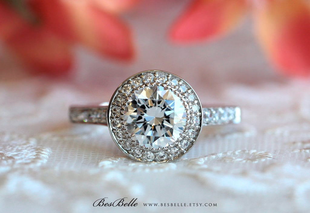 2.80 ct.tw Halo Engagement Ring