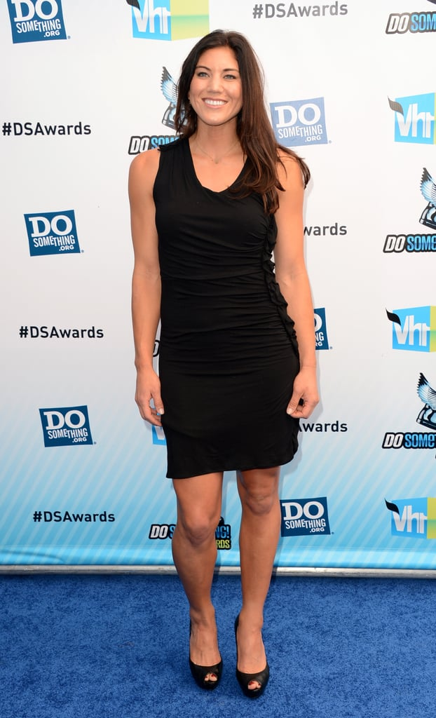 Hope Solo rocked an LBD for the Do Something Awards.