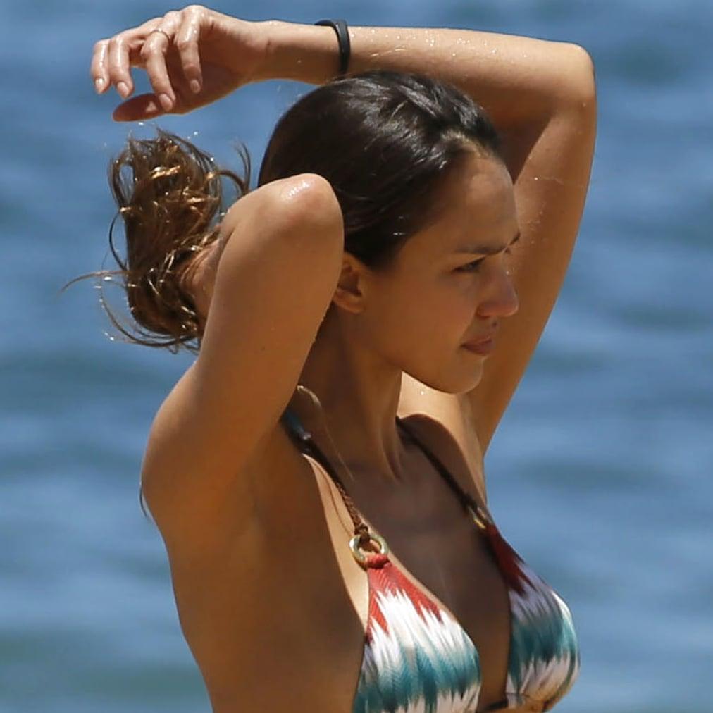 Jessica Alba Brown Bikini