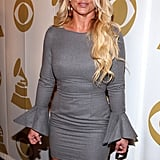 Britney Spears attended the Grammy event in LA.