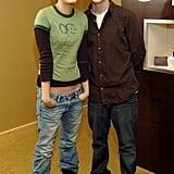 Mila Kunis et Macaulay Caulkin