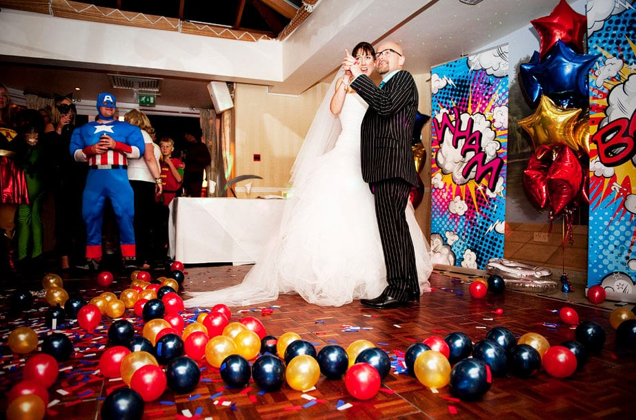 Superhero Wedding Inspiration