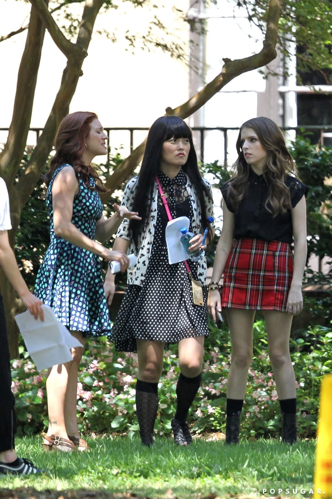 Pitch Perfect 2 Filming Photos