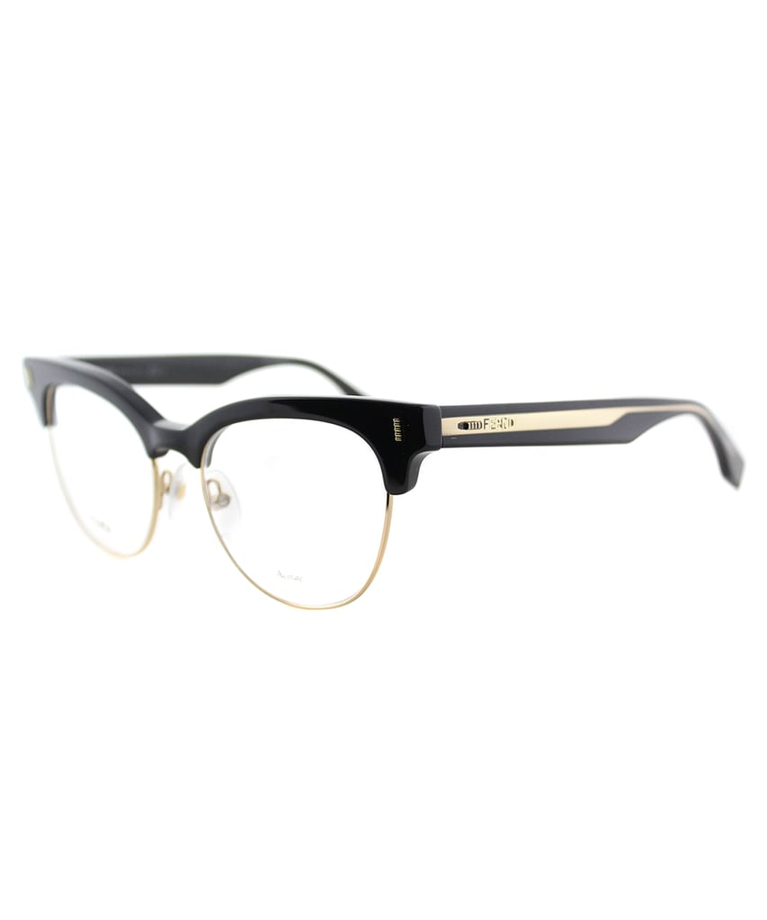 Fendi Cat-Eye Plastic Eyeglasses