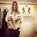 Little Joe Woman designer Gail Ellliott introduced us to her too-cute showroom buddies (and her SS '13-'14 collection!).