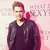 "Chord Overstreet walked the red carpet at the Victoria's Secret ""What Is Sexy?"" event.  Source: Instagram user victoriassecret"