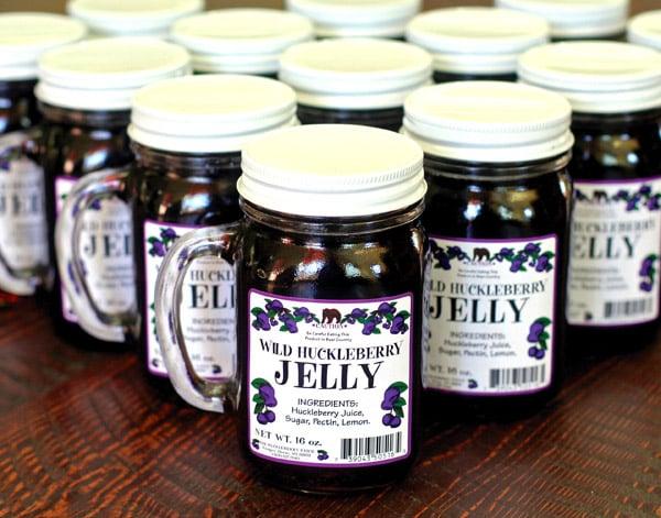 Montana: Larchwood Farms Huckleberry Jam