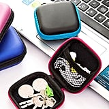 Random Color Earphone Storage Bag
