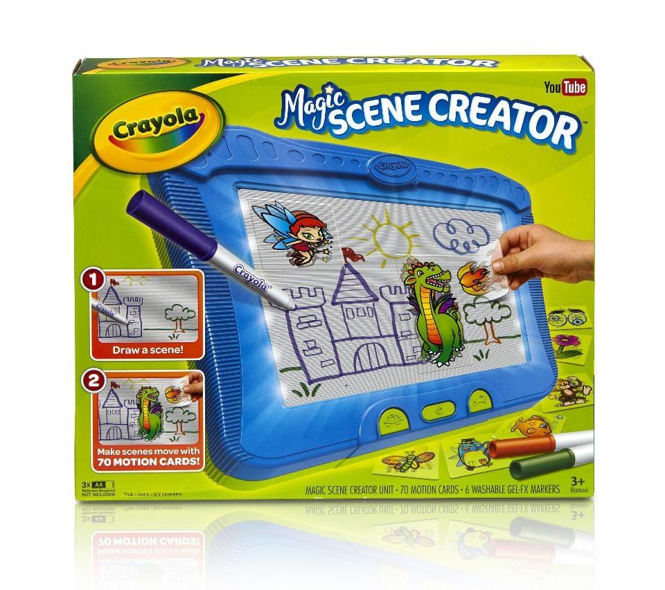 Crayola Magic Scene Creator Activity Set