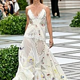 A Handkerchief Dress From the Tory Burch Runway at New York Fashion Week