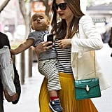Miranda Kerr shopped with son Flynn Bloom.
