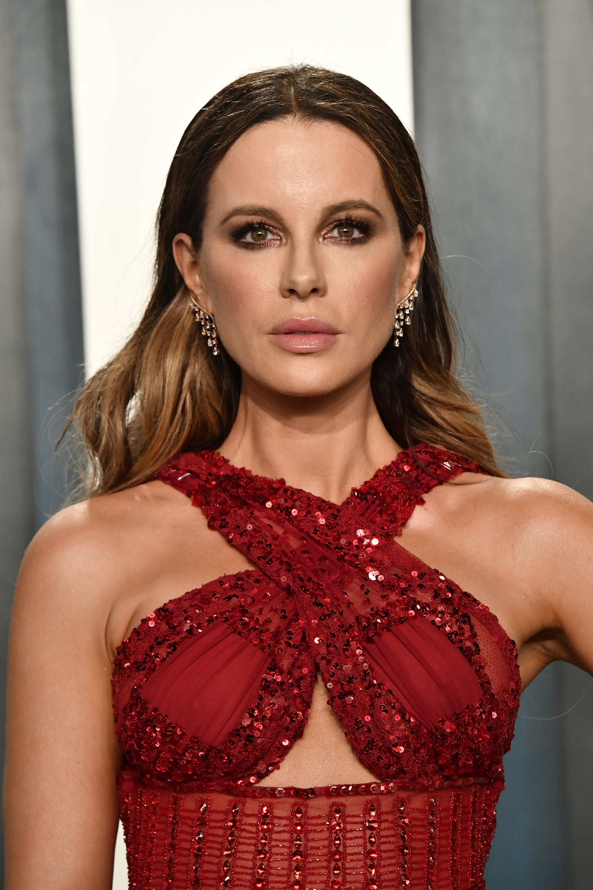 BEVERLY HILLS, CALIFORNIA - FEBRUARY 09: Kate Beckinsale attends the 2020 Vanity Fair Oscar Party hosted by Radhika Jones at Wallis Annenberg Centre for the Performing Arts on February 09, 2020 in Beverly Hills, California. (Photo by Frazer Harrison/Getty Images)
