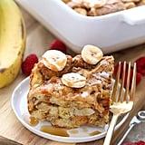 Peanut Butter Banana French-Toast Bake