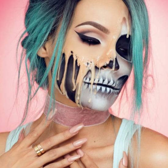 Melted Makeup Look For Halloween