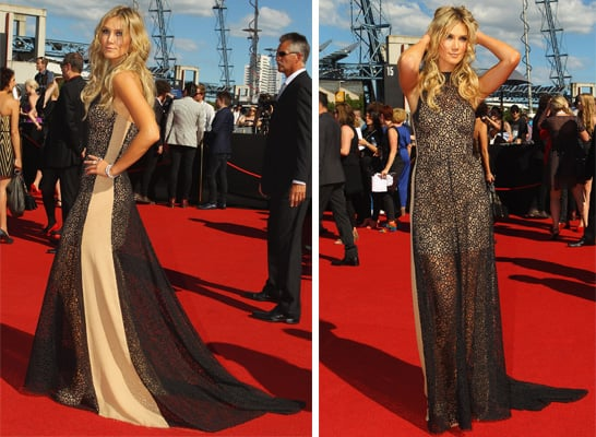 Pictures of Delta Goodrem in Lisa Ho Dress on the Red Carpet at the 2011 ARIA Awards: Rate or Hate Her Look!