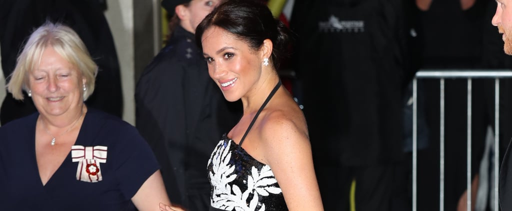 Meghan Markle Safiyaa Top at Royal Variety Performance 2018