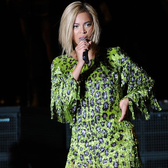 Beyonce Performing at the V Festival in England 2013