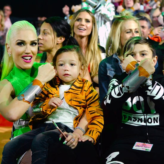 Gwen Stefani With Sons at 2017 Kids' Choice Awards
