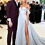 Hailey Baldwin and Shawn Mendes at the 2018 Met Gala