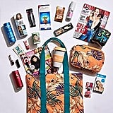 Cosmopolitan x Minkpink Showbag ($25) Includes:  Tote Bag  Travel Eco Mug or Cosmetics Bag  Maybelline Master Precise Curvy Liquid Liner
