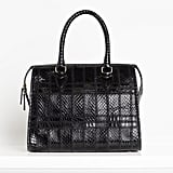 Seductive Watersnake Satchel in Black ($1,195) Photo courtesy of Tamara Mellon