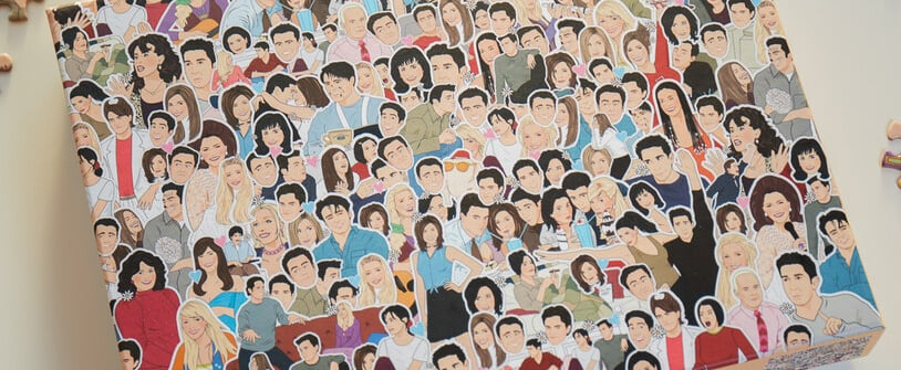 This Friends Jigsaw Puzzle Features the Show's Best Moments