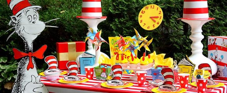 Dr. Seuss-Themed Birthday Party Ideas