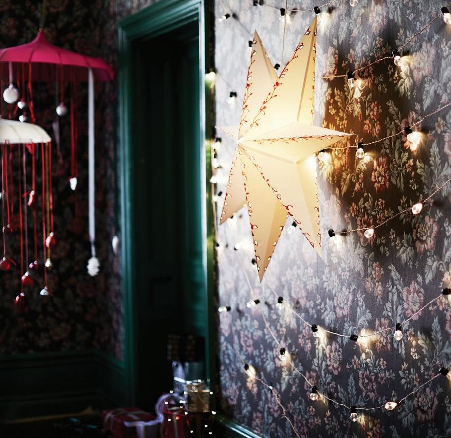 Strala pendant lamp shade wreath 6 new ikea winter holiday strala pendant lamp shade wreath 6 aloadofball Choice Image