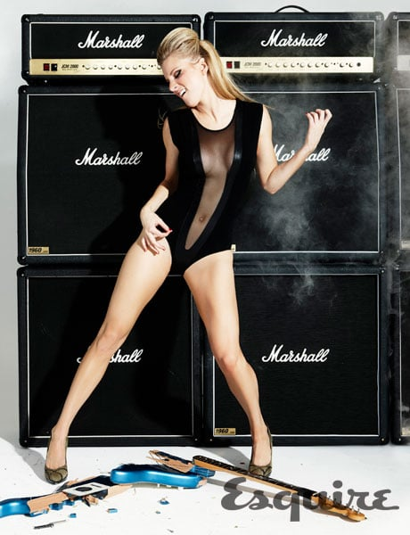Video Of Glees Heather Morris Performing Sexy Dance Moves In A Black One Piece For Esquire Popsugar Celebrity Australia