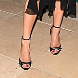"Jennifer Aniston's ""Going Out"" Shoes Don't Look So Typical When You Zoom in Close"