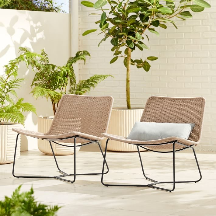 Outdoor Slope Lounge Chairs