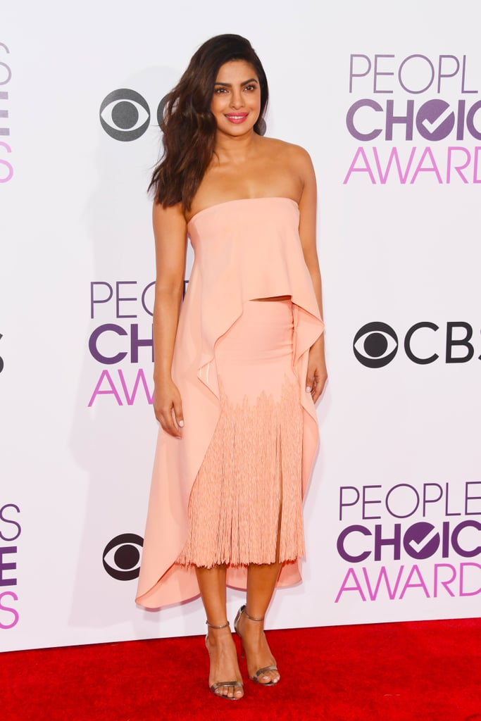 Priyanka Chopra Sally LaPointe People's Choice Awards 2017