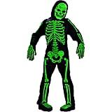 Scary Green Bones Skeleton