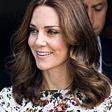 Kate Wore a Gold Pendant Necklace