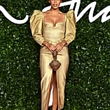 Rochelle Humes at the British Fashion Awards 2019
