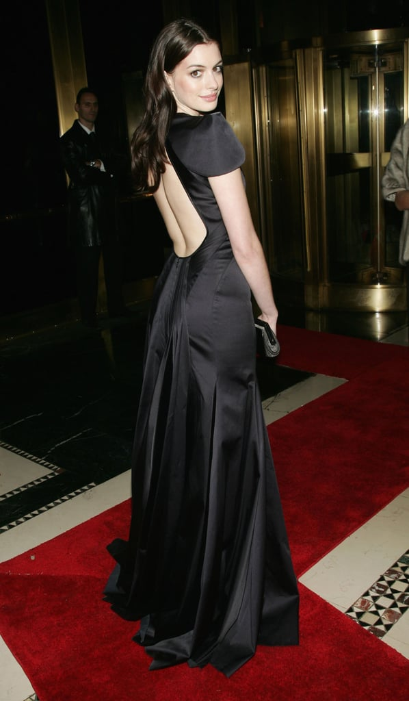 In Zac Posen in October, 2006