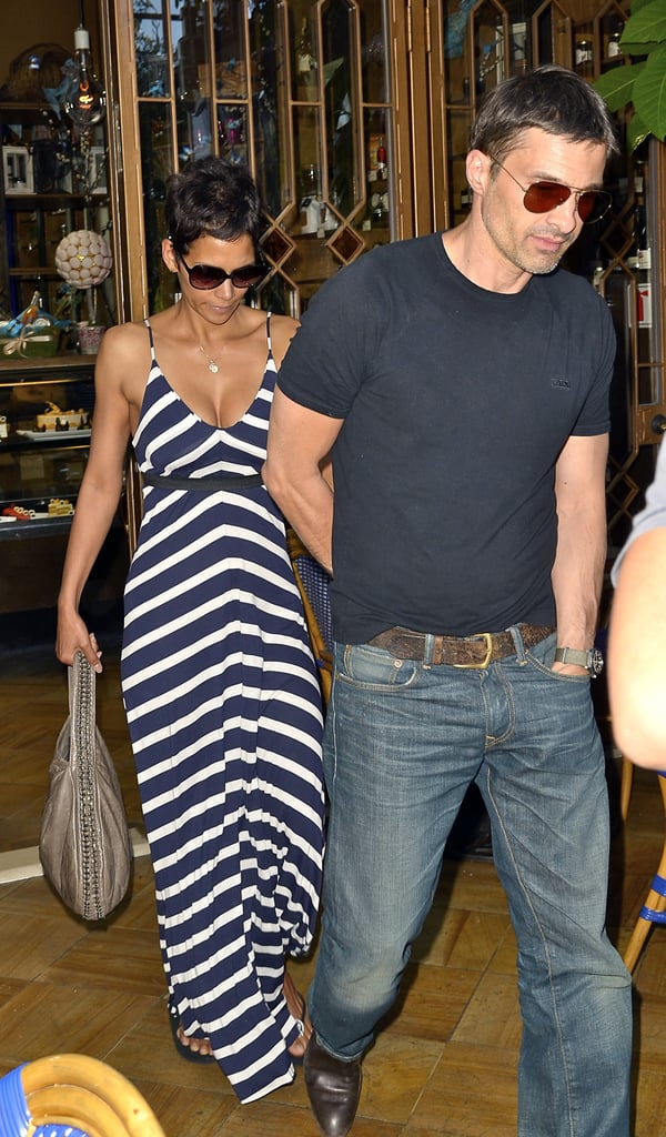 Halle Berry and Olivier Martinez did lunch in LA in April 2011.